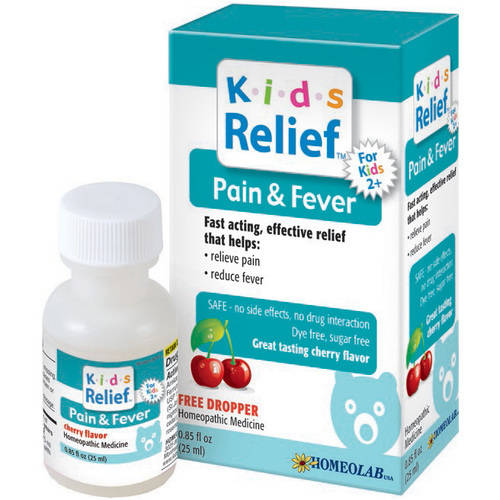 Homeolab Usa Pain & Fever Relief Kids, 25 ML