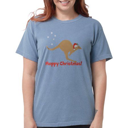 5254bf0e908 CafePress - CafePress - Aussie Christmas Womens Comfort Colors Shirt -  Womens Comfort Colors® Shirt - Walmart.com