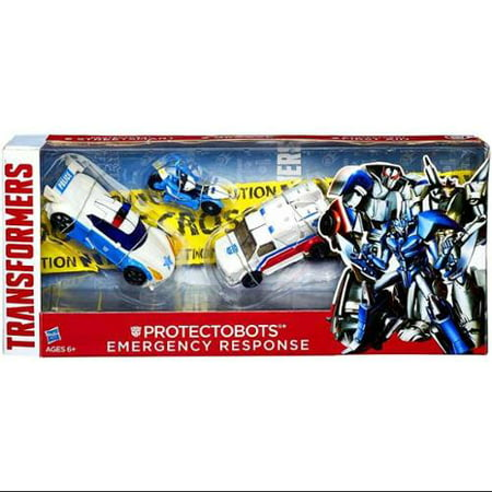 Protectobots Emergency Response Action Figure 3-Pack 30th Anniversary