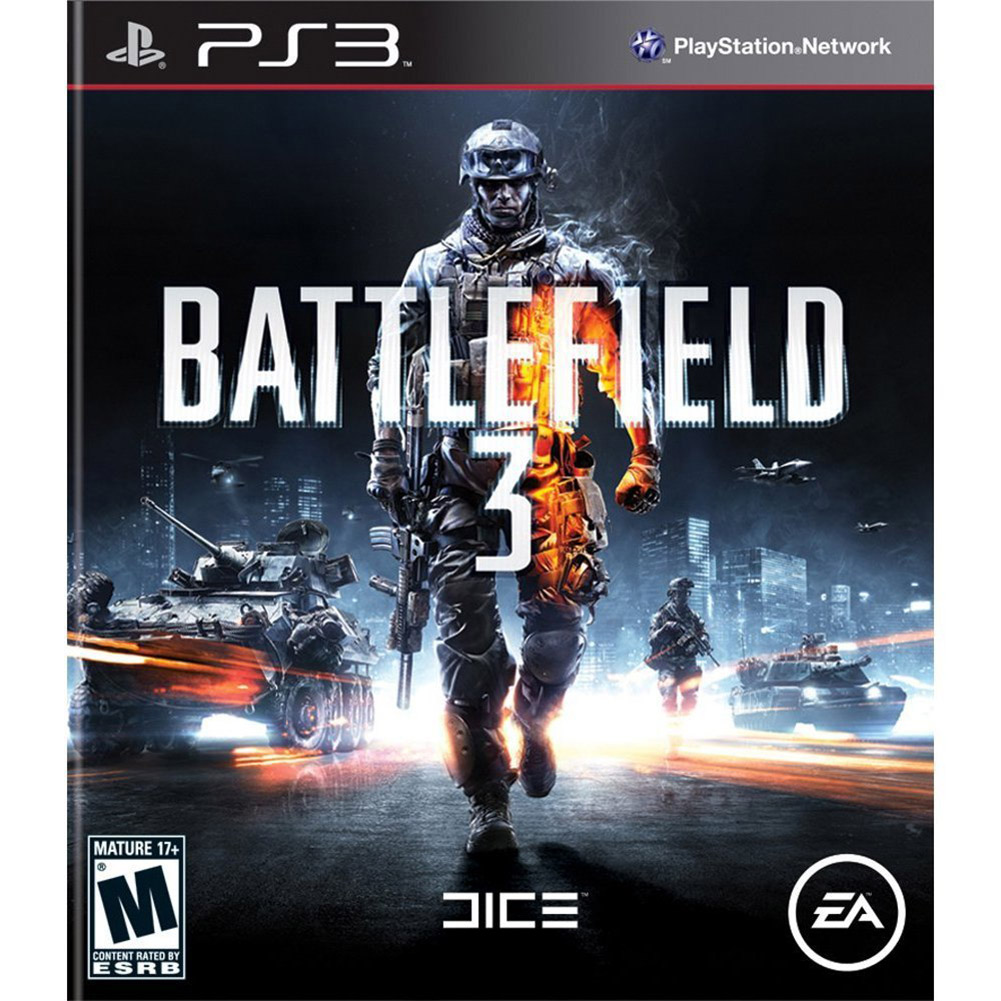 Battlefield 3, Electronic Arts, PlayStation 3, 014633197280