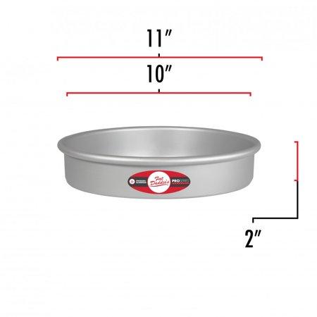 "Fat Daddio's Round Cake Pan, 10"" x 2"" - image 1 de 2"