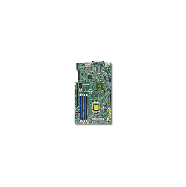 Super Micro X9SPU-F-B LGA1155/ Intel C216 Express PCH/ DD...