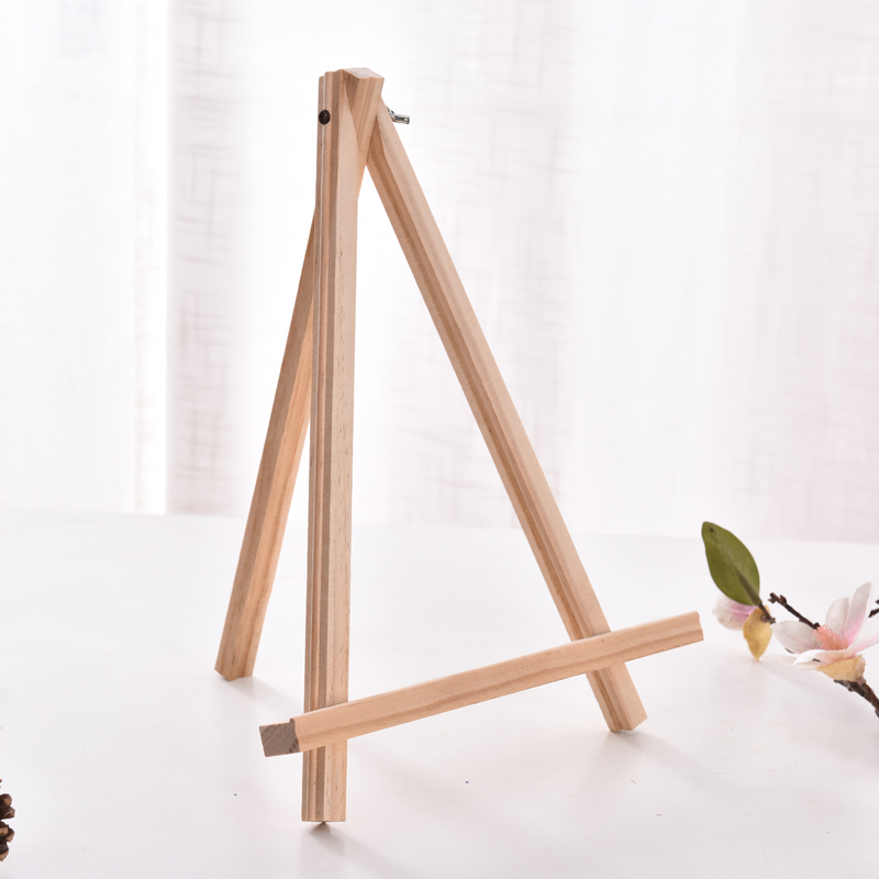 Ktaxon Mini Wooden Tripod Artist A-Frame Easel Stand Suitable for Studio Table Top Drawing Sketching Painting Kids/Children, Display Picture Wedding Canvas Holder