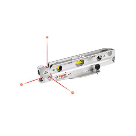 Factory-Reconditioned Bosch GPL3T-RT 3-Point Torpedo Laser Alignment Kit (Refurbished)