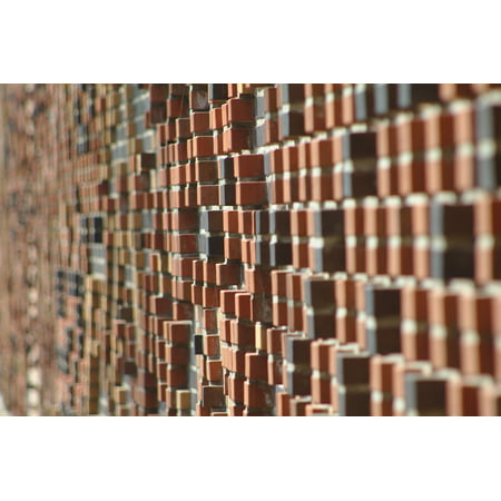 Framed Art for Your Wall Pattern Brick Wall Wall Mosaic Bricks 10x13 Frame