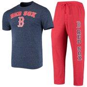Boston Red Sox Concepts Sport Satellite T-Shirt & Pants Sleep Set - Navy/Red