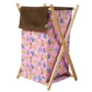 Trend Lab Collapsible Hamper Set, Lola Fox and Friends