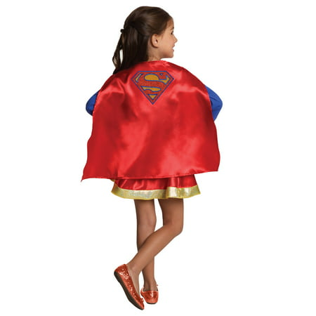 DC Super Hero Girls Supergirl Cape and Skirt Set