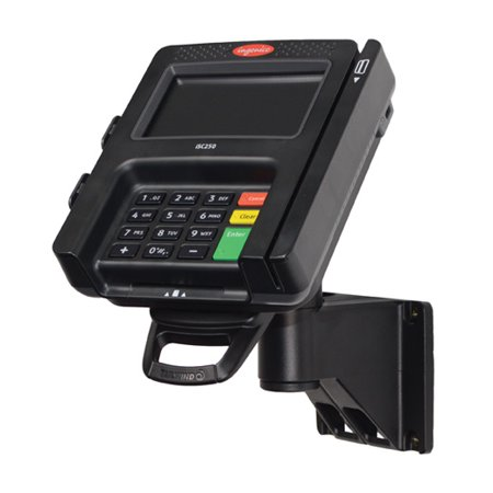 Stand for Ingenico iSC250 Credit Card Terminal - Wall-Mount with Lock & Key  - Tilts 140 degree and swivels 180 degree