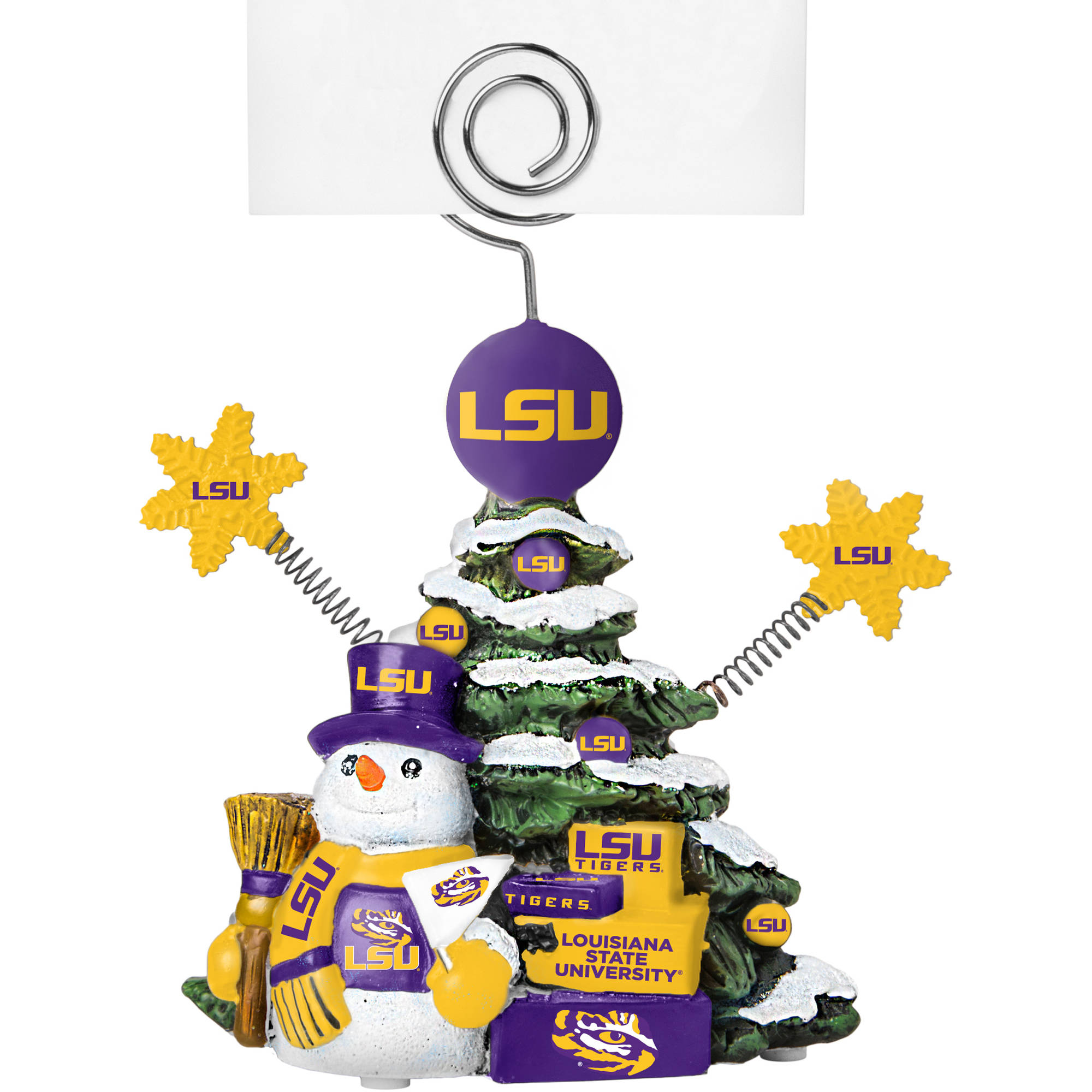 Topperscot by Boelter Brands NCAA Tree Photo Holder, Louisiana State University Tigers, LSU