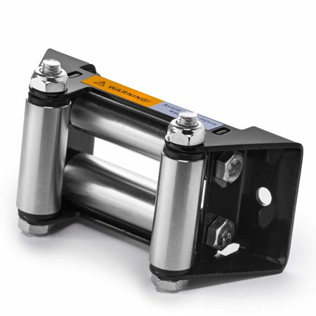 ATV Winch Roller Fairlead - 4 7/8 in. Bolt Pattern - by Driver Recovery