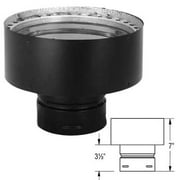 """Stainless Steel Chimney Adapter - 4"""" to 6"""""""