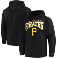 Pittsburgh Pirates Stitches Team Pullover Hoodie - Black
