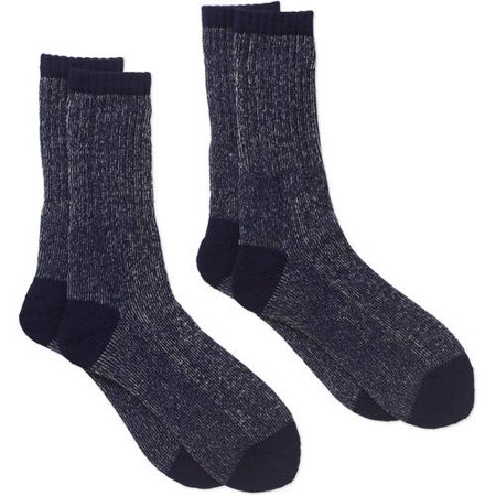 Signature Brands Mens Wool Blend Boot Sock