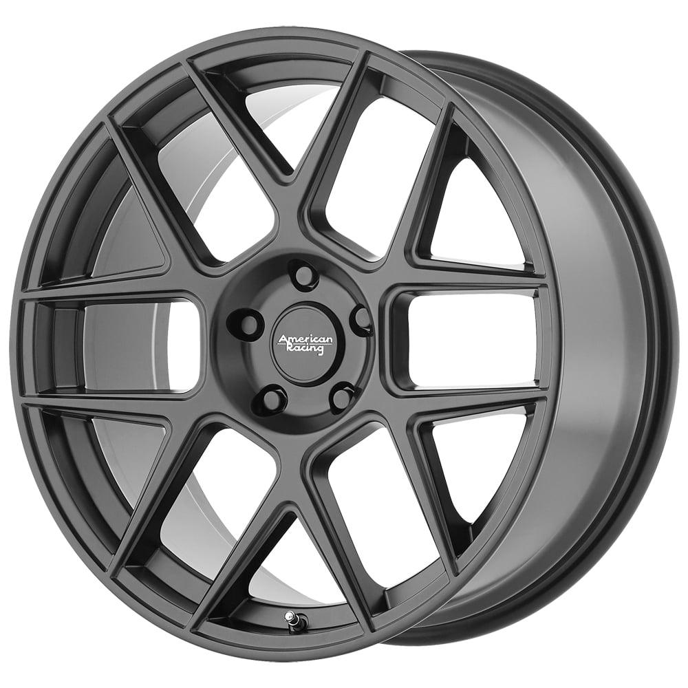 "20"" Inch 20x9 American Racing AR913 Apex 5x115 +25mm Satin Black Wheel Rim"