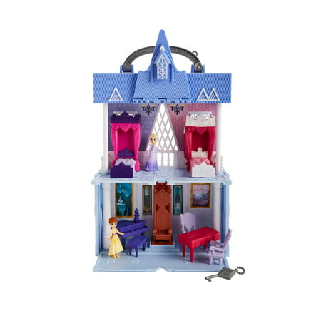 Disney Frozen 2 Portable Pop-up Arendelle Castle Playset, Elsa & Anna