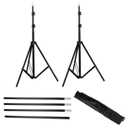 Zimtown 10ft Adjustable Background Support Stand Photography Video Backdrop Kit Black - image 6 de 7