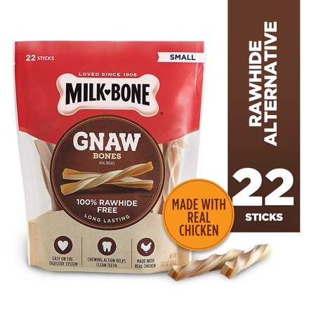 Milk-Bone GnawBones Chicken Sticks, Rawhide-Free, 13.2 Ounces