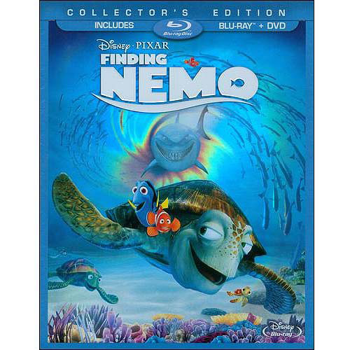 Finding Nemo (2-Disc Blu-ray   DVD) (Widescreen)