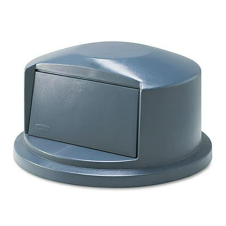 GARBAGE CONTAINER LID BRUTE DOME TOP, GREY - image 1 of 1