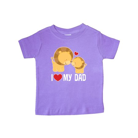 702e3cf0 Fathers Day I Love My Dad Boys Lion Baby T-Shirt - Walmart.com