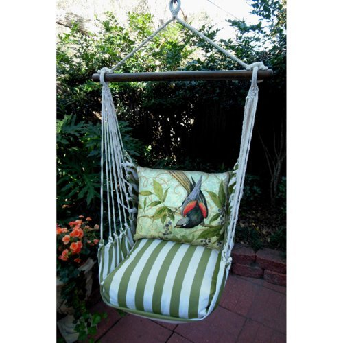 Magnolia Casual Flight Hammock Chair & Pillow Set