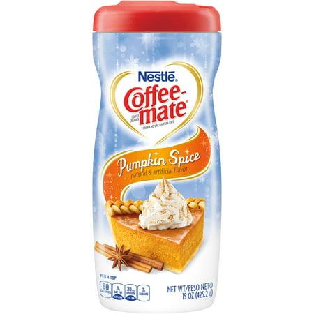 Coffee-Mate Coffee Creamer Pumpkin Spice Liquid Creamer - Walmart.com