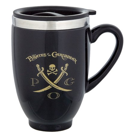 Disney Parks Pirates of the Caribbean Travel Ceramic Coffee Mug New