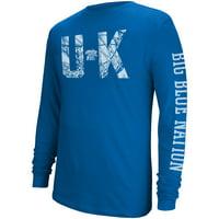 Men's Royal Kentucky Wildcats Foundation Long Sleeve T-Shirt