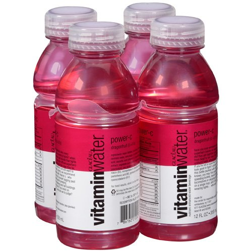 Vitamin Water Glaceau Vitwtr Power-c-ko 12fo Nr Pl Bt