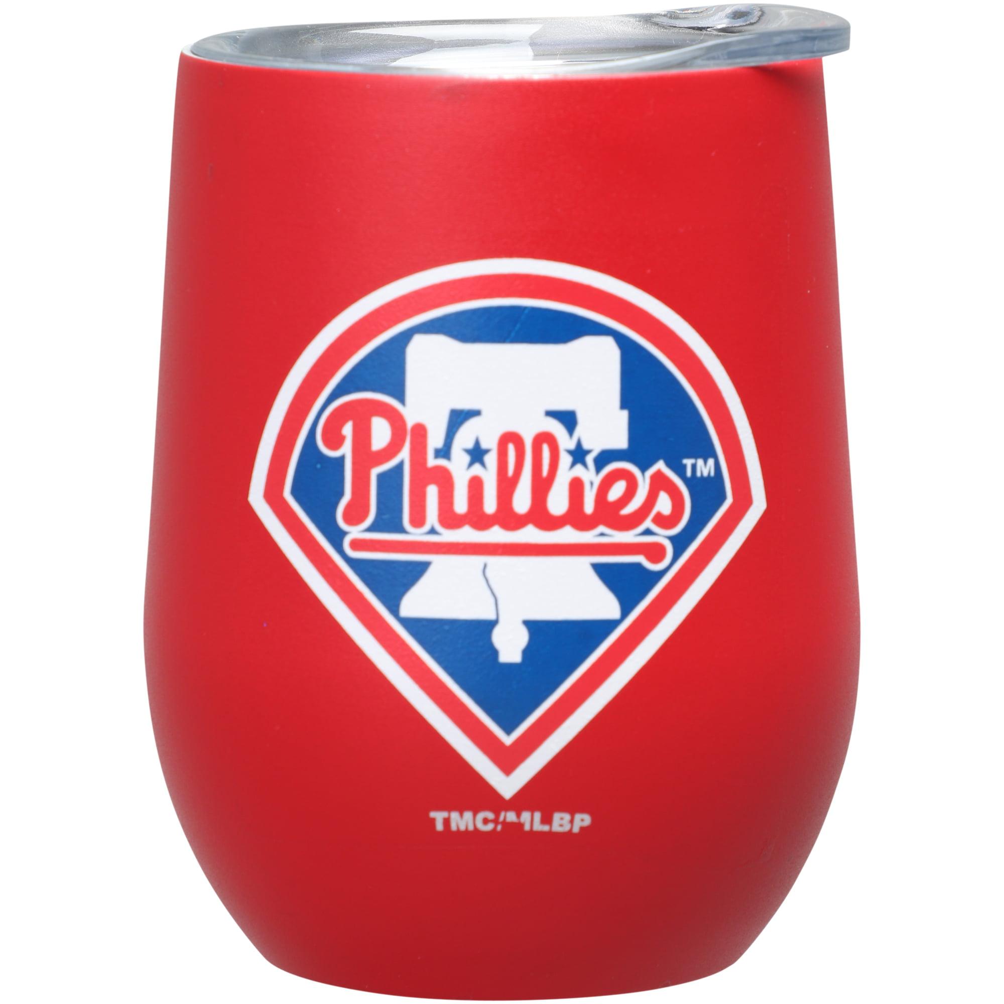 Philadelphia Phillies 15oz. Matte Stainless Steel Stemless Tumbler - No Size