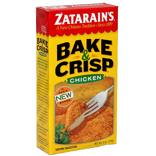 Zatarain's Chicken Bake & Crisp, 8 oz (Pack of 12)