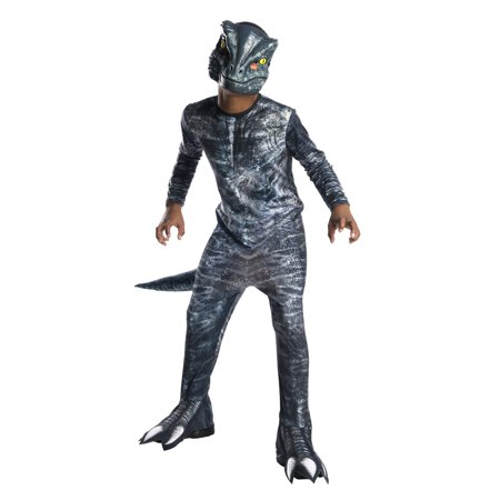 Jurassic World: Fallen Kingdom Velociraptor Child Halloween Costume](Fallen Angel Halloween Costume)