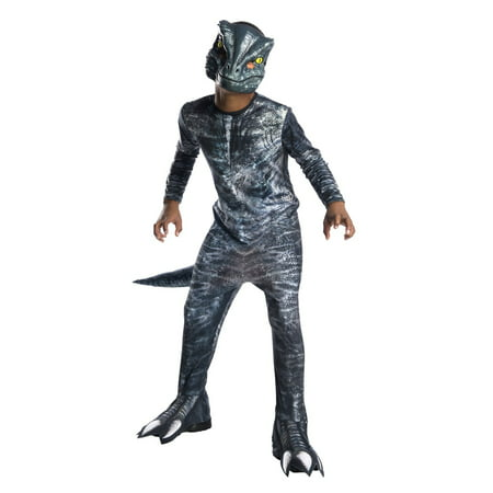 Jurassic World: Fallen Kingdom Velociraptor Child Halloween Costume](Jigsaw Halloween Costume Kids)