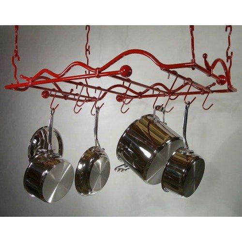 Rainsford & Gale Cosmopolitan Steel Hanging Potrack Set