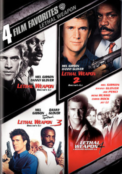 Lethal Weapon 3 Classic Large Movie Poster Print