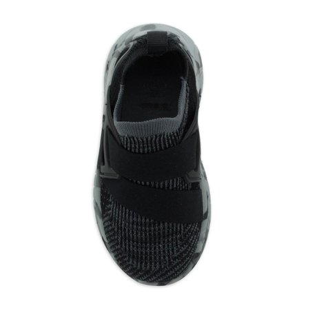 Athletic Works Toddler Boys Knit Cage Athletic Sneaker, Sizes 7-12