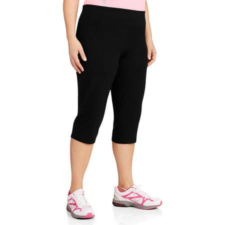 Danskin Now Women's Plus-Size Sporty Yoga Capri - Walmart.com