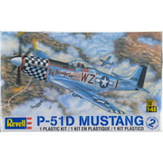 Plastic Model Kit-P-51D Mustang 1:48