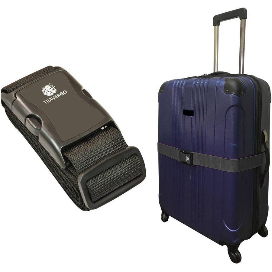 Travel Luggage Strap animal black and white sharks Nylon Suitcase Belt Luggage Tage Set to Keep Your Luggage Organized and Secure Adjustable