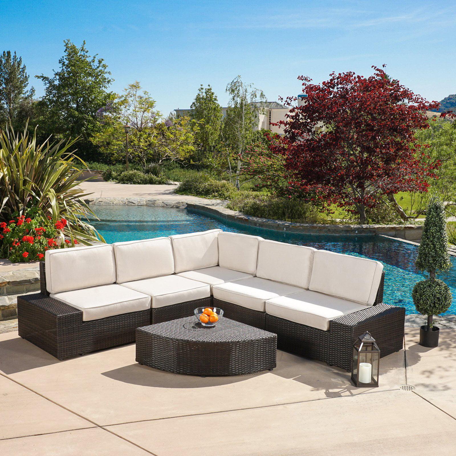 Zora Outdoor 6 Piece Sofa Conversation Set