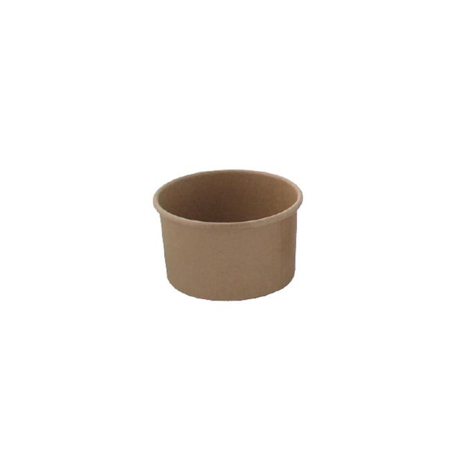 Packnwood 210POB121 4.2 oz Brown Kraft Hot & Cold Paper Cup - image 1 of 1