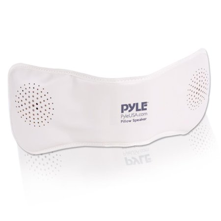 PYLE PPSP18 - Bluetooth Pillow Speaker with Built-in Speakers for Wireless Music