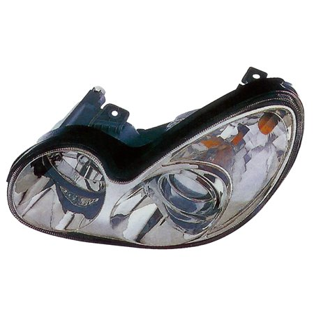 Fits 2002-2005 Hyundai Sonata Driver Left Side Headlight Lamp Assembly