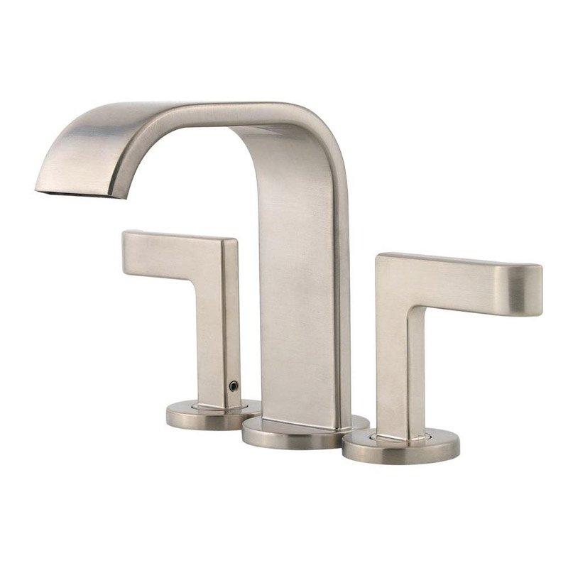 Pfister Skye 2-Handle Mini-Widespread Bathroom Faucet, Brushed Nickel