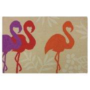 Homefires Flamingo Silhouette Indoor Doormat