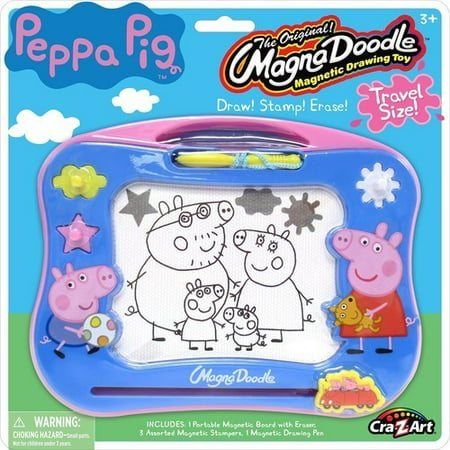 Peppa Pig Travel Magna Doodle - Peppa Pig Painting