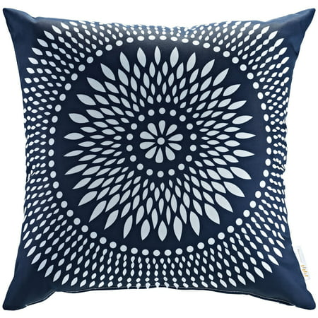 Modway Outdoor Patio Pillow for Indoor/Outdoor Use, Multiple Colors ()