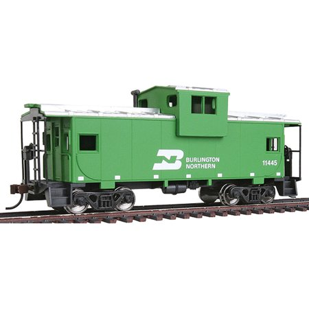 - Walthers Trainline HO Scale Wide Vision Caboose Car Burlington Northern/BN