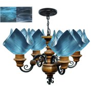 Jezebel Gallery Radiance 4 Light Flame Vineyard Chandelier